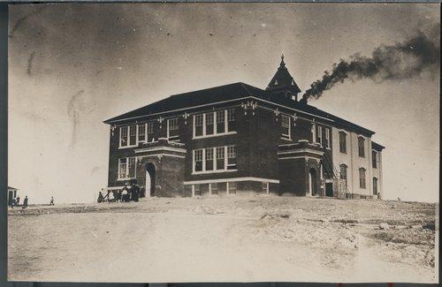 Schoolhouse, Cimarron, Kansas - Page