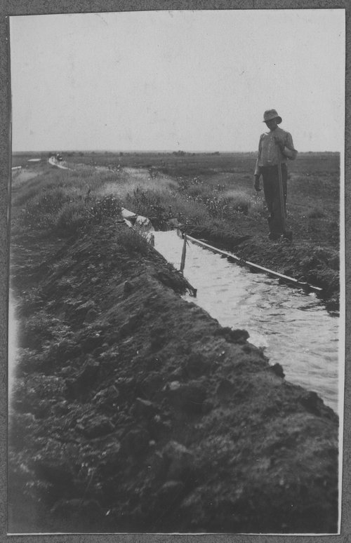 Irrigation canal, Gray County, Kansas - Page