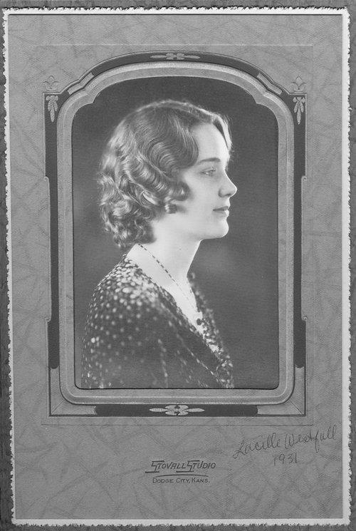 Lucille Westfall, Cimarron, Kansas - Page