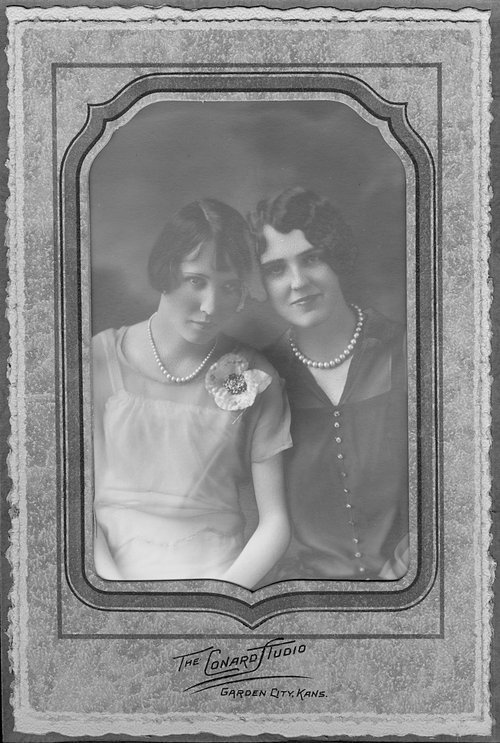 Wilma and Camilla Naylor, Cimarron, Kansas - Page