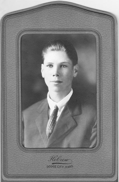 Albert J. Henderson, Cimarron, Kansas - Page
