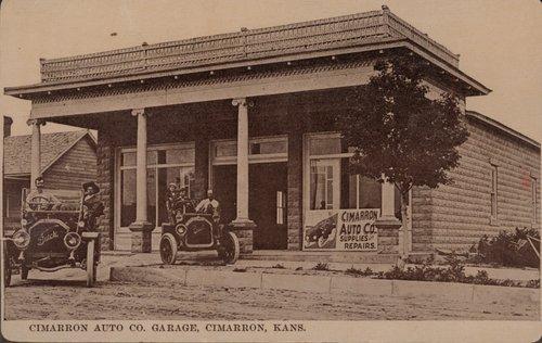 Cimarron Auto Company Garage, Cimarron, Kansas - Page