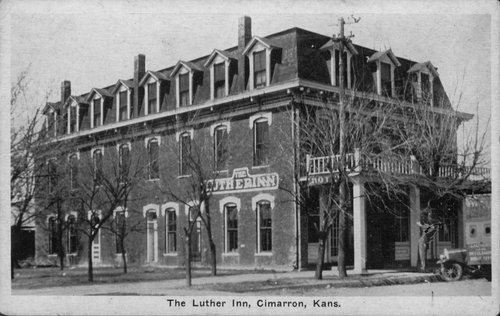 The Luther Inn, Cimarron, Kansas - Page