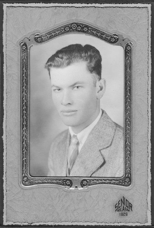 Oral Noel Evans, Cimarron, Kansas - Page