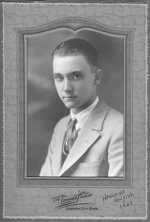 Howard English, Cimarron, Kansas - Page
