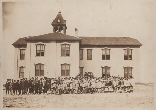 Students and faculty, Gray County, Kansas - Page