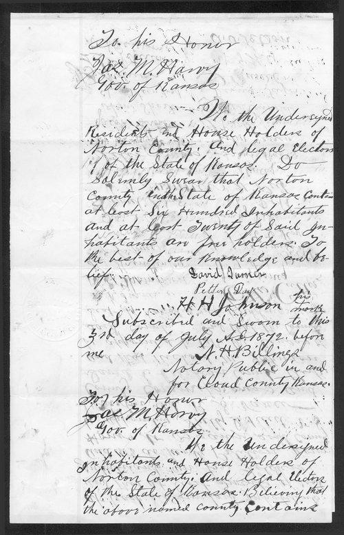 Norton County organization records - Page
