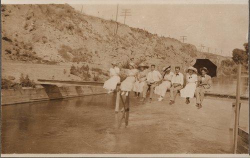 At the Ditch, Ingalls, Kansas - Page