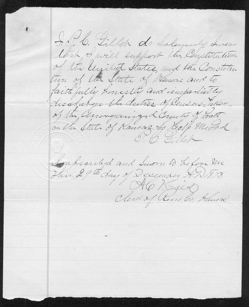 Pratt County organization records - Page