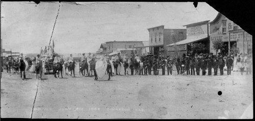 Parade, Cimarron, Kansas - Page