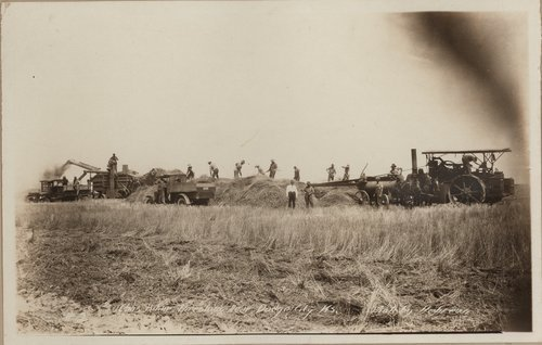 Threshing, Gray County, Kansas - Page