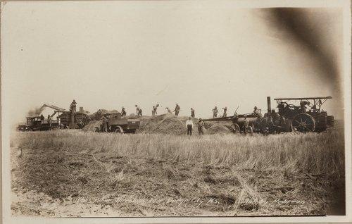 Threshing, Gray County, Kansas - Page