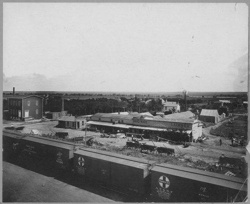 View of Cimarron, Kansas - Page