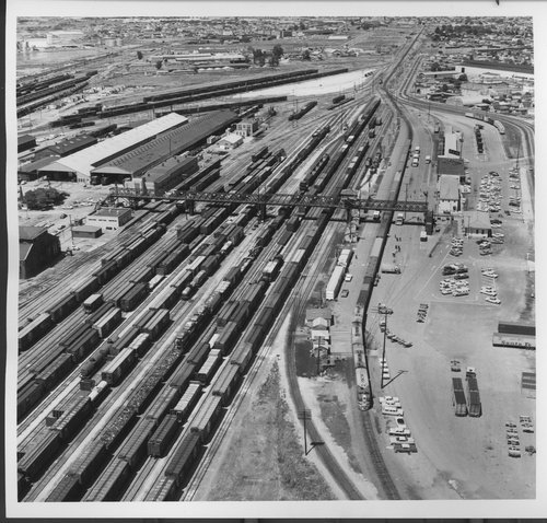 Atchison, Topeka and Santa Fe Railway Company yards, Richmond, California - Page