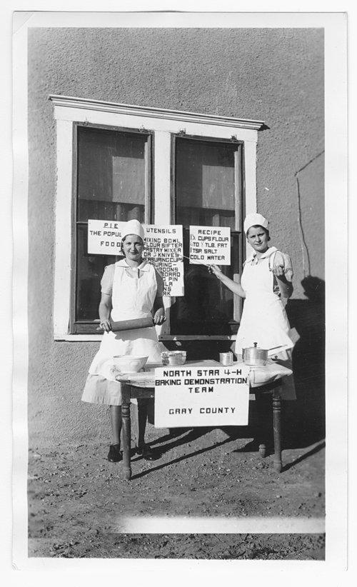 North Star 4-H baking demonstration team, Gray County, Kansas - Page