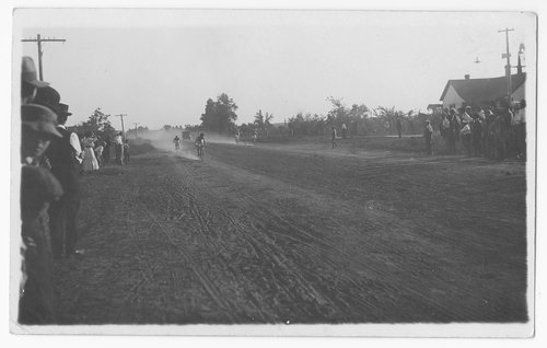 Bicycle race, Cimarron, Kansas - Page