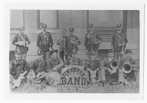 Band, Cimarron, Kansas - Page