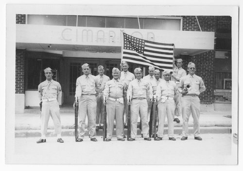 Army unit, Cimarron, Kansas - Page