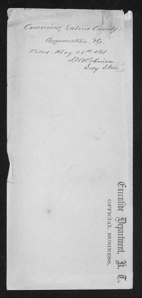 Saline County organization records - Page