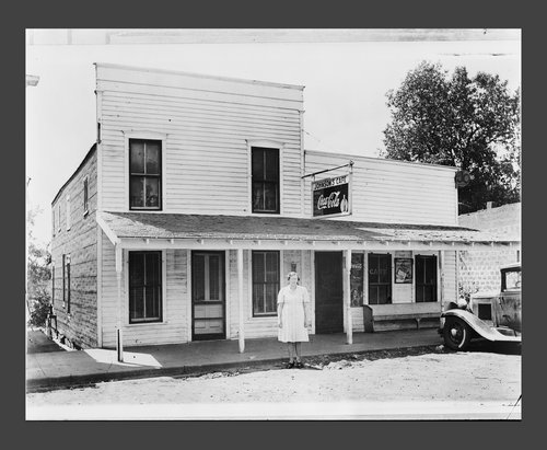 Johnson's Cafe, Ozawkie, Kansas - Page