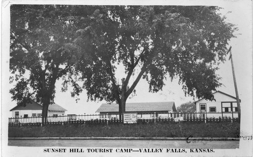 Sunset Hill Tourist Camp, Valley Falls, Kansas - Page