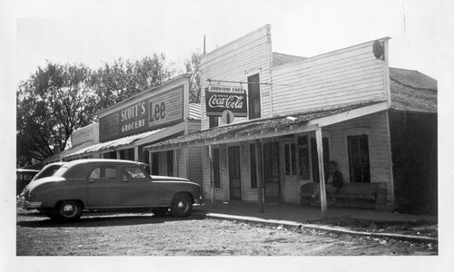 Scott's Grocery and Johnson's Cafe, Ozawkie, Kansas - Page