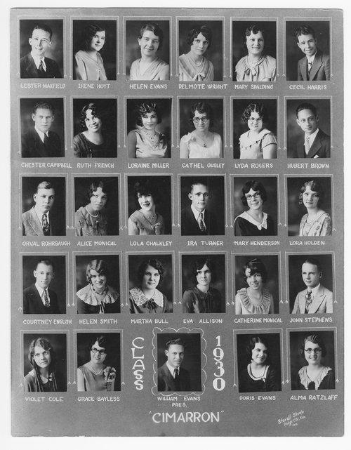 Cimarron High School, Cimarron, Kanas - Page