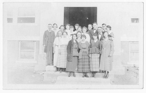 School teachers, Cimarron, Kansas - Page