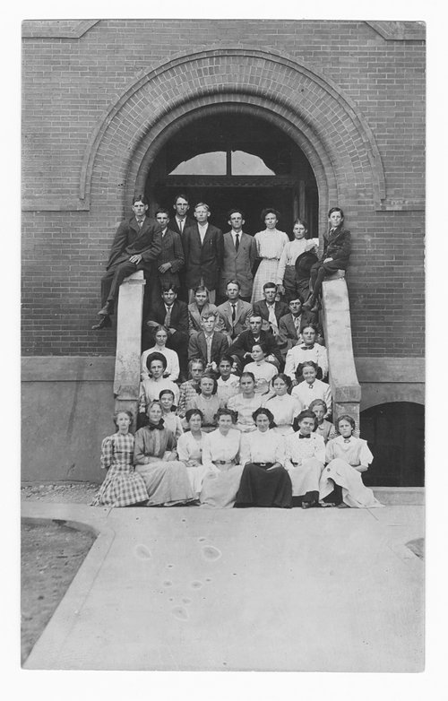 Students, Cimarron, Kansas - Page