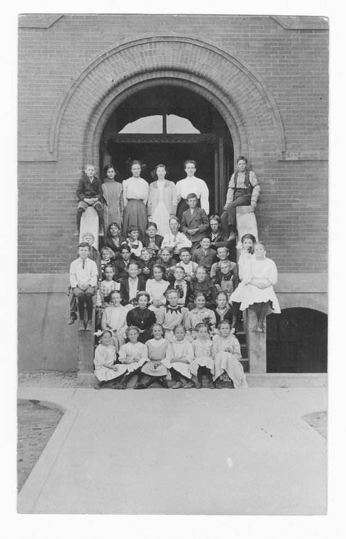Students, Cimarron, Kansas - Page