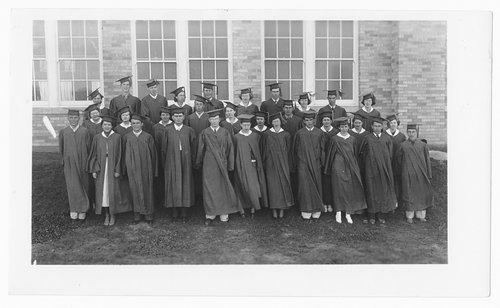 Graduating class, Cimarron, Kansas - Page