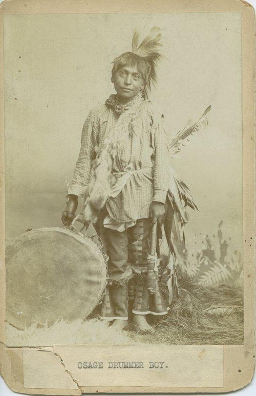 Osage Drummer Boy - Page