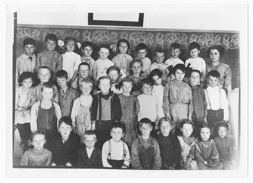 School children, Cimarron, Kansas - Page