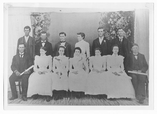 Eighth grade class, Cimarron, Kansas - Page