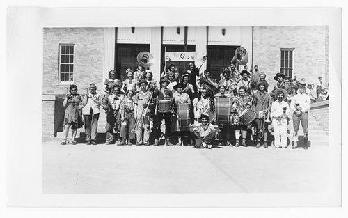 School band, Cimarron, Kansas - Page