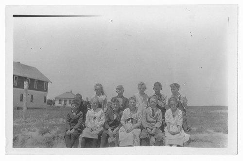 School children, Cimarron, Kansas - Page
