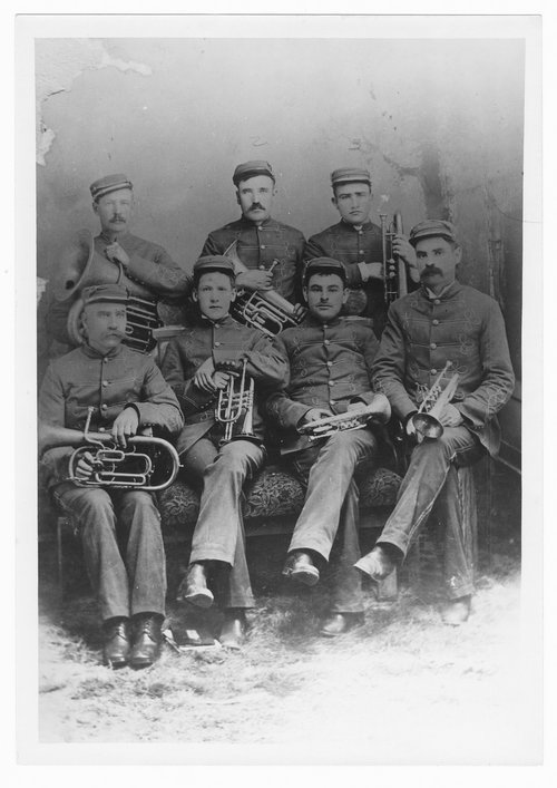 Band members, Cimarron, Kansas - Page