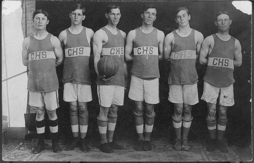 Cimarron High School basketball team, Cimarron, Kansas - Page