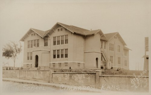 Cimarron High School, Cimarron, Kansas - Page