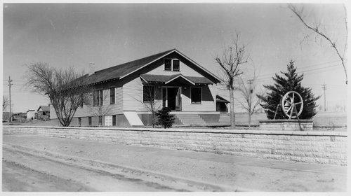 Band hall, Cimarron, Kansas - Page