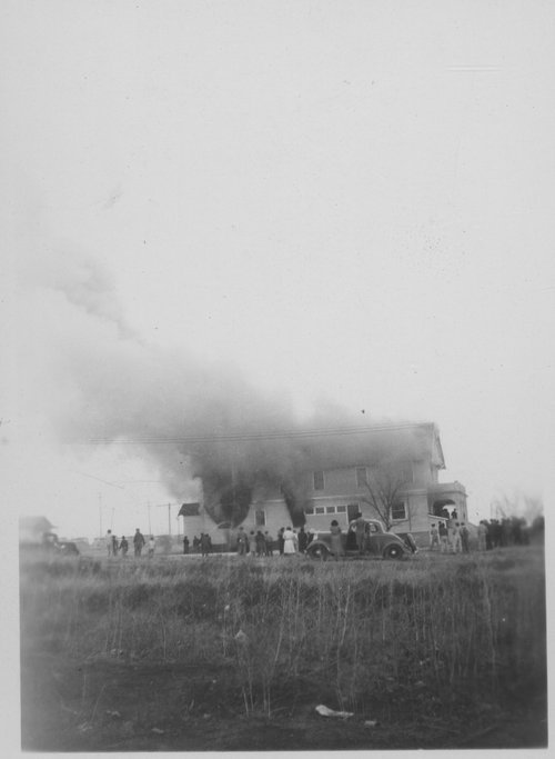 Fire, Cimarron, Kansas - Page
