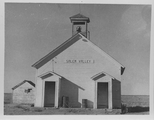 Salem Valley school, Gray County, Kansas - Page