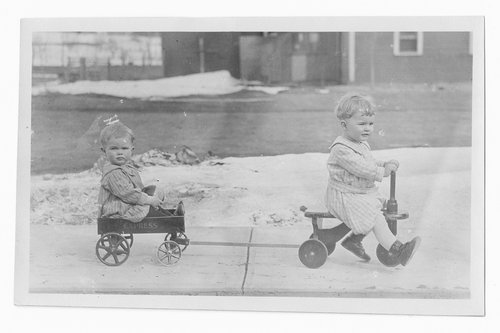Children playing, Cimarron, Kansas - Page