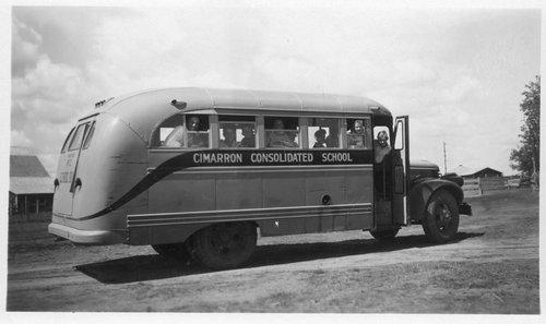 Cimarron Consolidated School bus, Cimarron, Kansas - Page