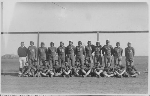 Football team, Cimarron, Kansas - Page