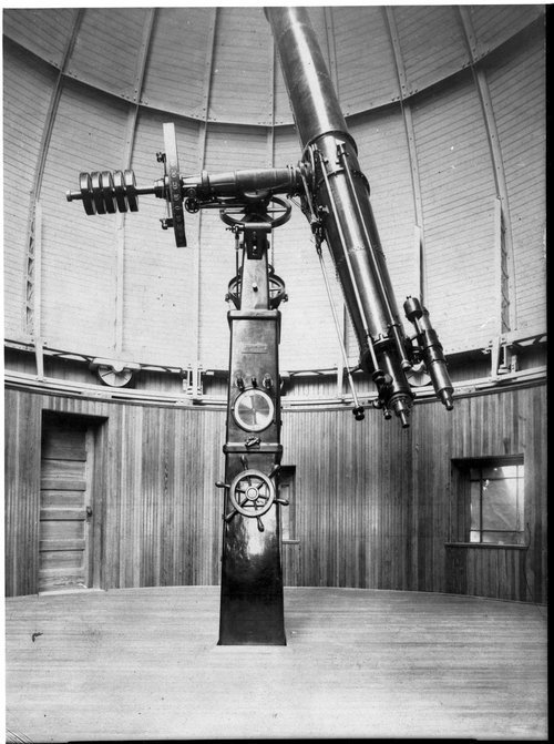 Crane Hall Observatory, Washburn University,  Topeka, Kansas - Page