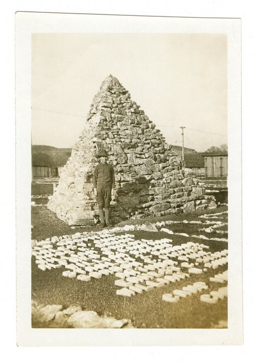 Flu epidemic monument, Camp Funston, Fort Riley, Kansas - Page