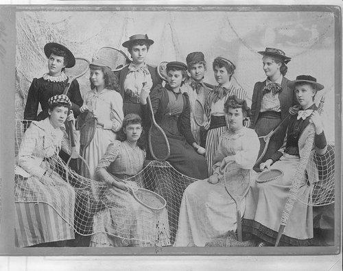 Women's tennis club, Lawrence, Kansas - Page