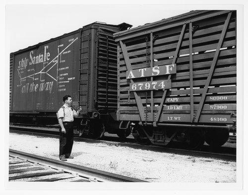 Atchison, Topeka & Santa Fe Railway Company yard clerk - Page