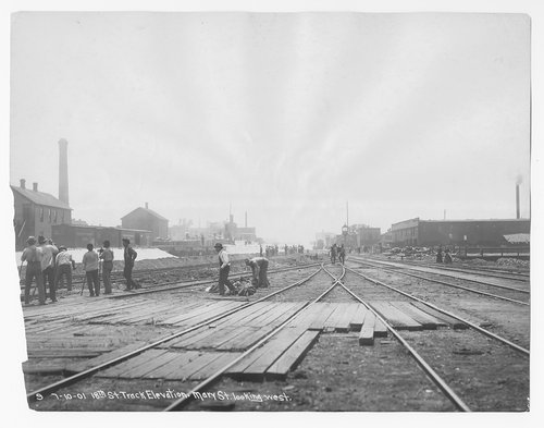 Track elevation, Chicago,Illinois - Page